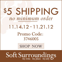 Soft surroundings coupon code free shipping