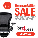 15% Off Herman Miller with Free Shipping and No Sales Tax