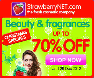 StrawberryNET Christmas Specials! Up to 70% Off Beauty and Fragrance Products