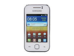 $10 Off Samsung Galaxy Y GT-S5360 White Unlocked GSM Android Smart Phone
