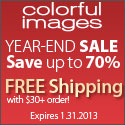Enjoy Free Shipping on $30+ at Colorfulimages
