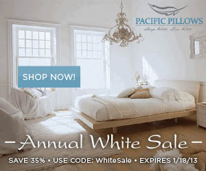 Save 35% on select fine bedding