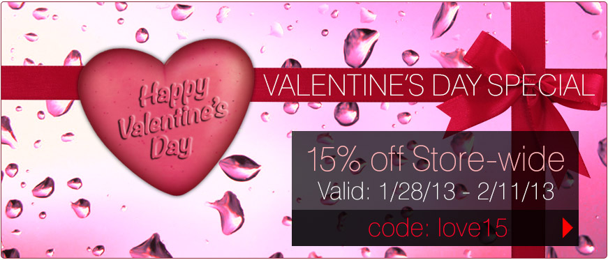 Save 15% off Store-wide