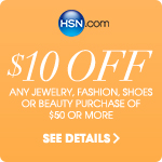 $10 off your next jewelry, fashion, shoes or beauty purchase of $50 or more