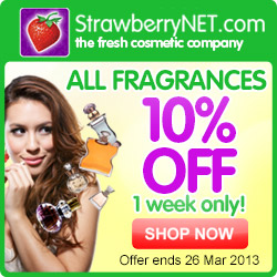 10% Off All Fragrances at StrawberryNET