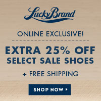 Get An Extra 25% Off Select Sale Shoes + Free Shipping