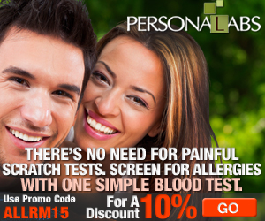 10% off all allergy tests