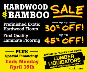 Take 10% off the lowest price of Morning Star Bamboo Flooring