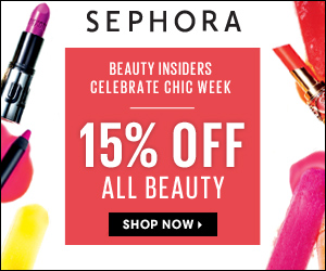 15% Off ALL BEAUTY for Beauty Insiders