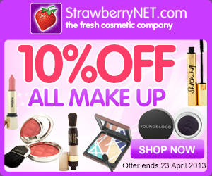 10% Off Makeup at StrawberryNET