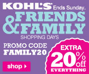 Save an Extra 20% off Everything