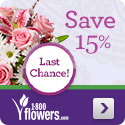 Save 15% Off Mother's Day Flowers & Gifts