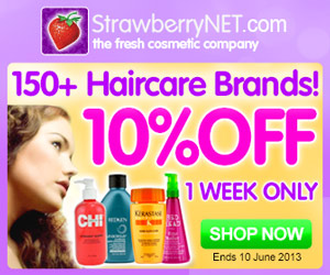 10% Off All Haircare Products
