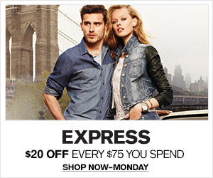 Save $20 Off of Every $60 You Spend