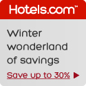 Save up to 30% in our Winter wonderland of Savings