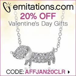 Save 20% on Valentine's Gifts