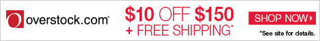 Save an Extra $10 off $150 + Free Shipping