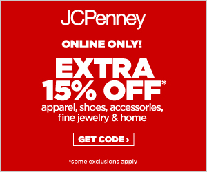 Save 15% off your purchase on jcp.com!